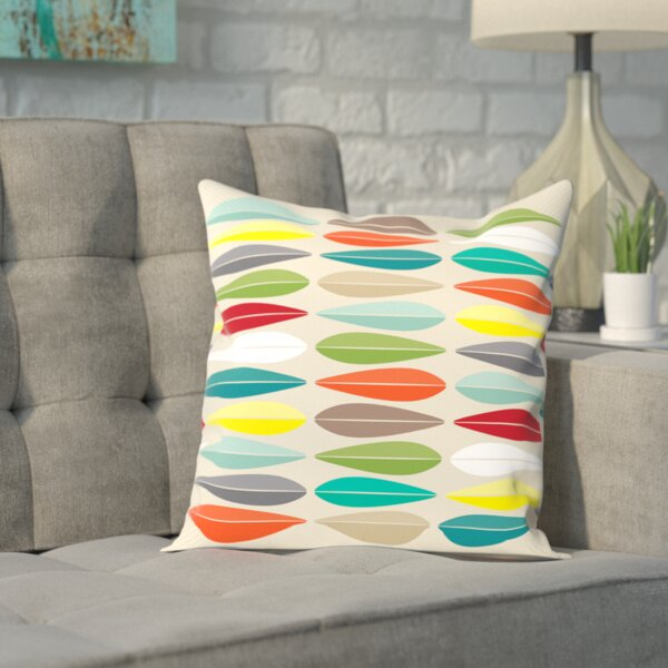Ibarra Cathrineholm lotus Outdoor Throw Pillow by Mercury Row