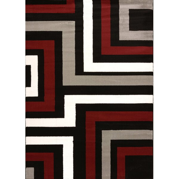 Cristall Grey Blade Area Rug by United Weavers of America