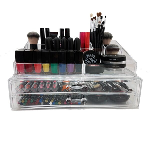 2-Tier Deluxe Cosmetic/Jewelry Organizer by Vandue Corporation