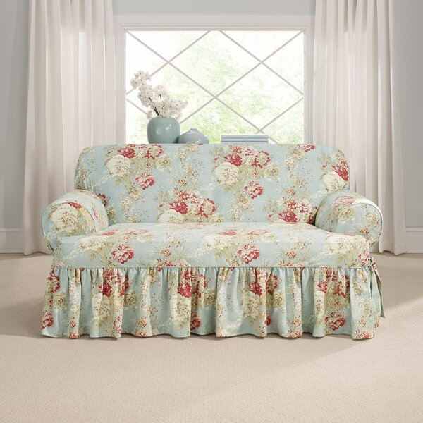 Ballad T-Cushion Loveseat Slipcover by Sure Fit