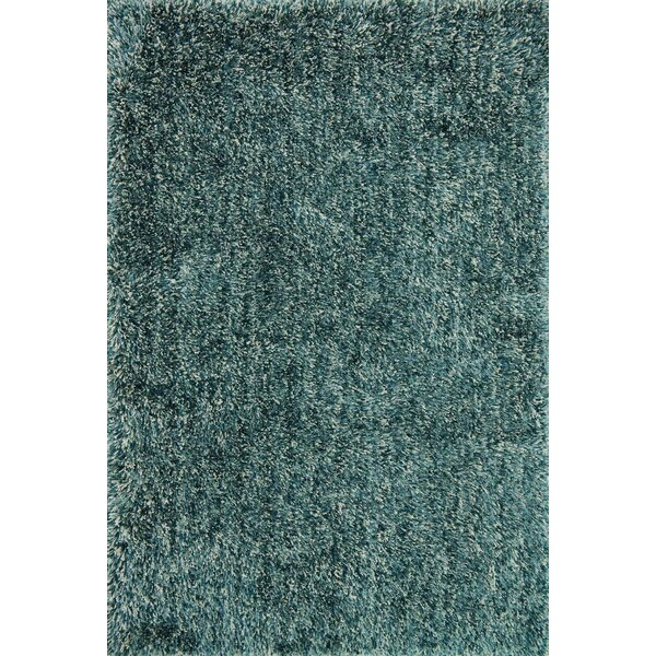 Clein Teal Area Rug by Ebern Designs