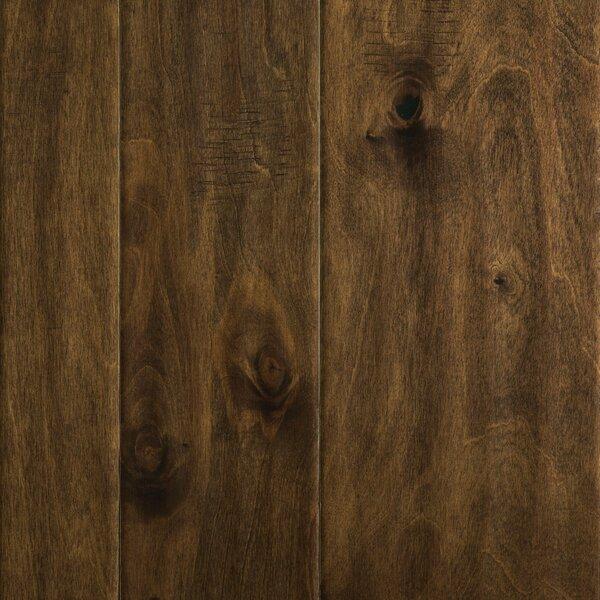 Allegra Random Width Engineered Birch Hardwood Flooring in Tobacco Birch by Welles Hardwood