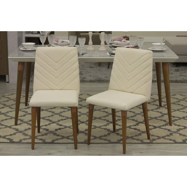 Lemington Upholstered Dining Chair (Set of 2) by George Oliver