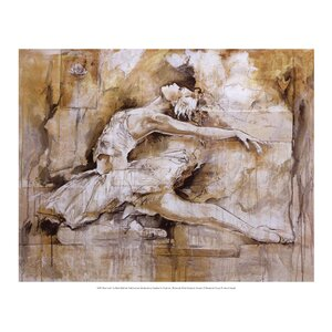 Swan Lake by Marta Gottfried Wiley Painting Print by Evive Designs