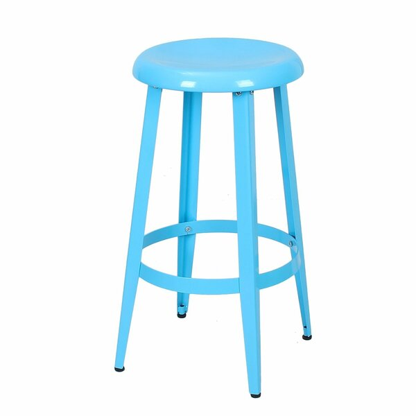 Quon 26 Bar Stool by Wrought Studio
