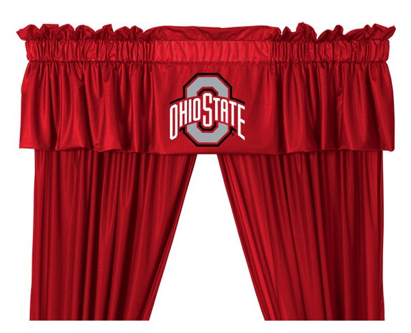 NCAA 88 Ohio State Buckeyes Curtain Valance by Sports Coverage Inc.