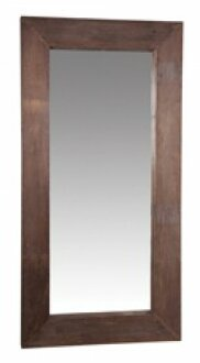Evy Reclaimed Wood Full Length Wall Mirror by Gracie Oaks