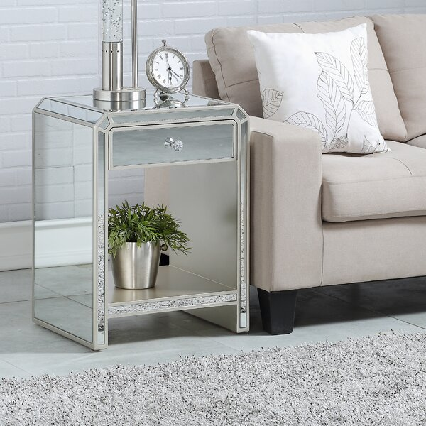 Jovany End Table With Storage By House Of Hampton