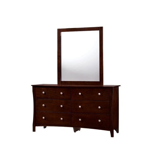 Joshua 6 Drawer Double Dresser by Red Barrel Studio