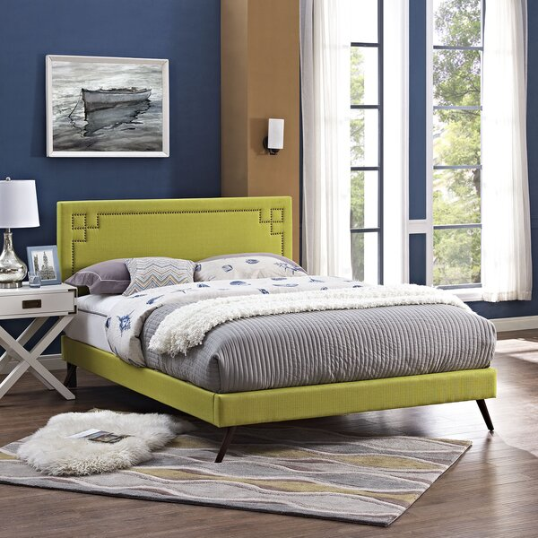 Kerley Upholstered Platform Bed by Everly Quinn