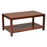 Crown Heights Solid Wood Coffee Table with Storage by Wrought Studio™