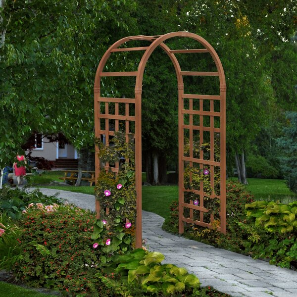 Sierra Vinyl Arbor by New England Arbors