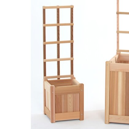 2 Piece Wood Trellis Set by All Things Cedar