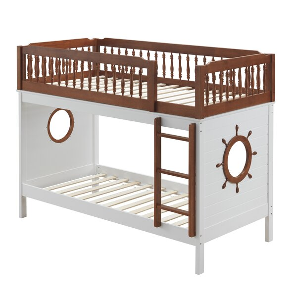 Tevis Twin over Twin Bunk Bed by Zoomie Kids