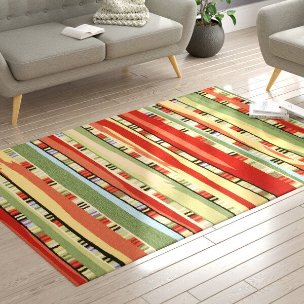 Derby Red Indoor/Outdoor Area Rug by Ebern Designs