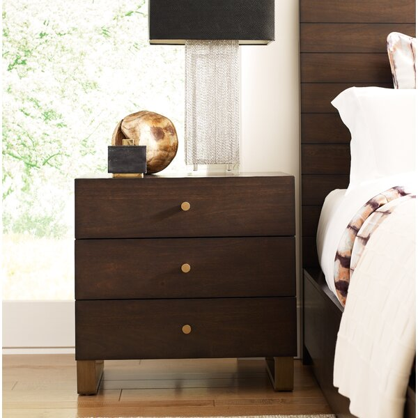 Austin 3 Drawer Nightstand by Rachael Ray Home