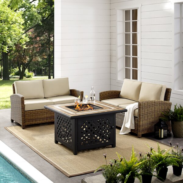 Lawson 3 Piece Sofa Seating Group with Cushions by Birch Lane™ Heritage