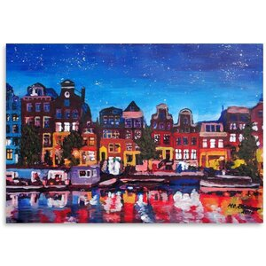 Amsterdam Stars 2 Painting by East Urban Home