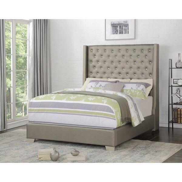 Kidd Upholstered Standard Bed by Rosdorf Park