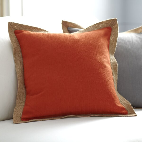 Cadence Jute Trim Pillow Cover by Birch Lane™
