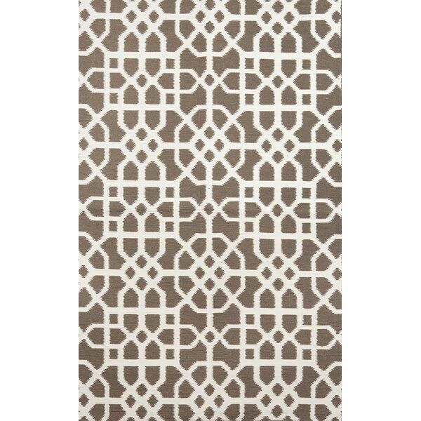 Tile Brown/Cream Indoor/Outdoor Area Rug by Tuft & Loom