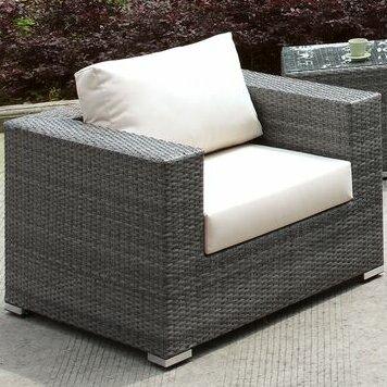 Peters Outdoor Patio Chair with Cushions by Brayden Studio Brayden Studio