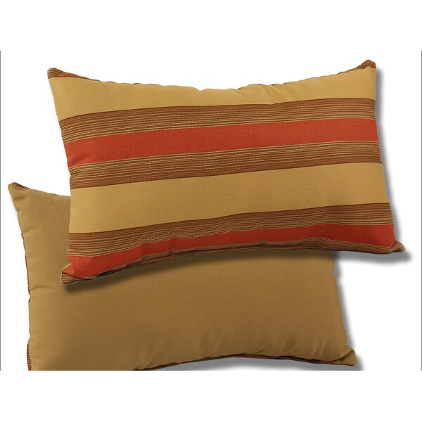 Outdoor Sunbrella Lumbar Pillow (Set of 2) by Comfort Classics Inc.