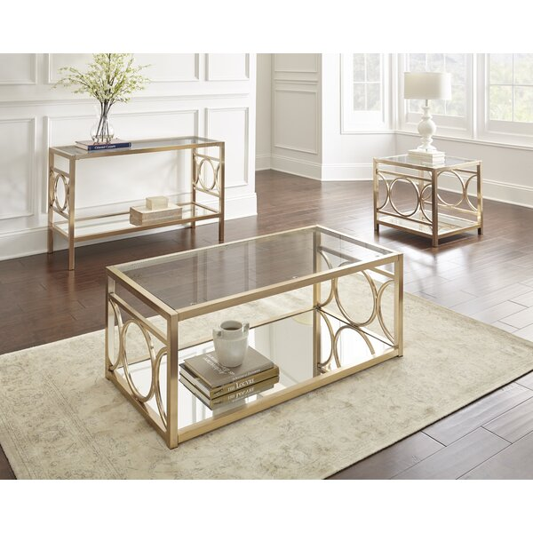 Astor 3 Piece Coffee Table Set by Willa Arlo Interiors