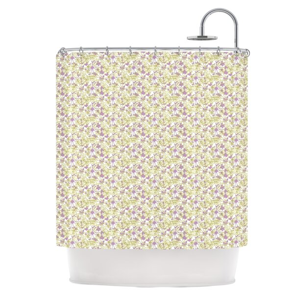 Rhapsody Vine Shower Curtain by East Urban Home