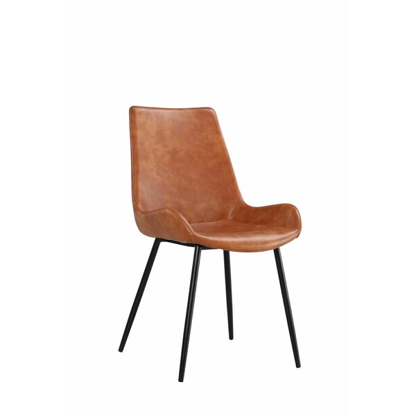 Ewald Modern Upholstered Dining Chair (Set of 2) by Modern Rustic Interiors