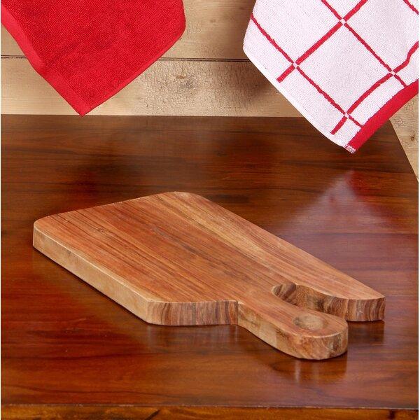 Acacia Wood Shaped Chopping Board by Intrade Global