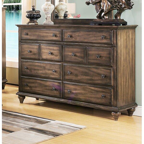 Van Buren 8 Drawer Double Dresser by Greyleigh