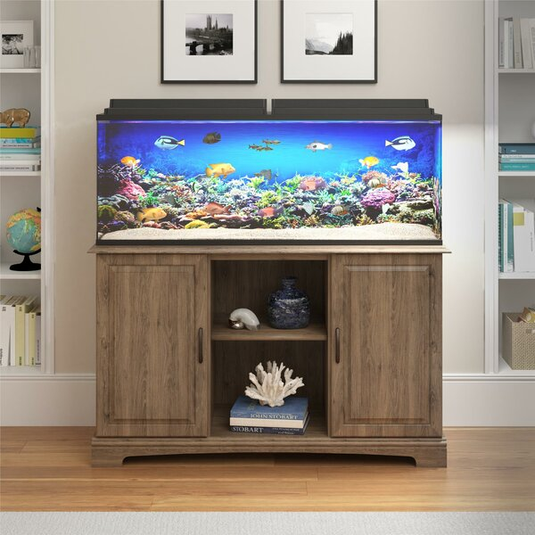 Wilton 75 Gallon Aquarium Stand By Charlton Home.