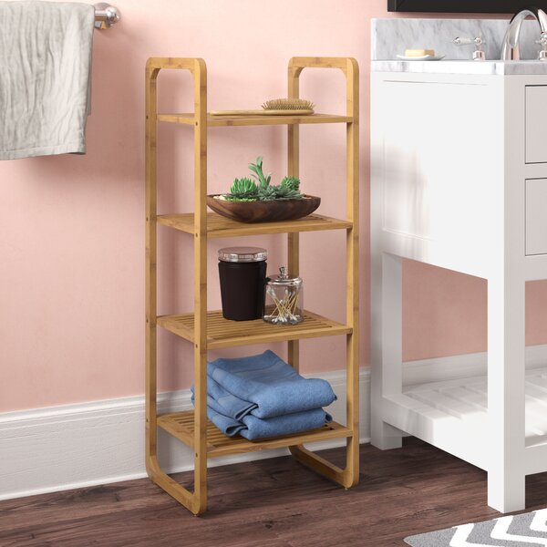 Nicholas 14.57 W x 36.42 H Bathroom Shelf by Andov