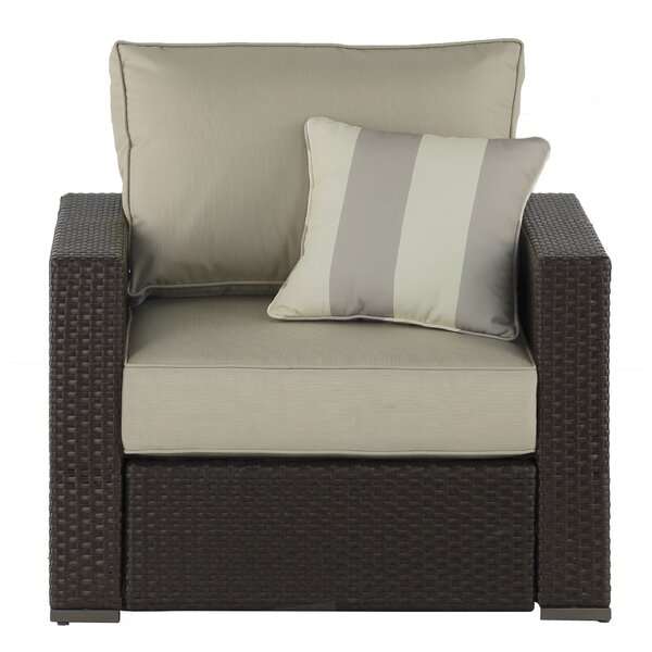 Laguna Arm Chair with Cushion by Serta at Home