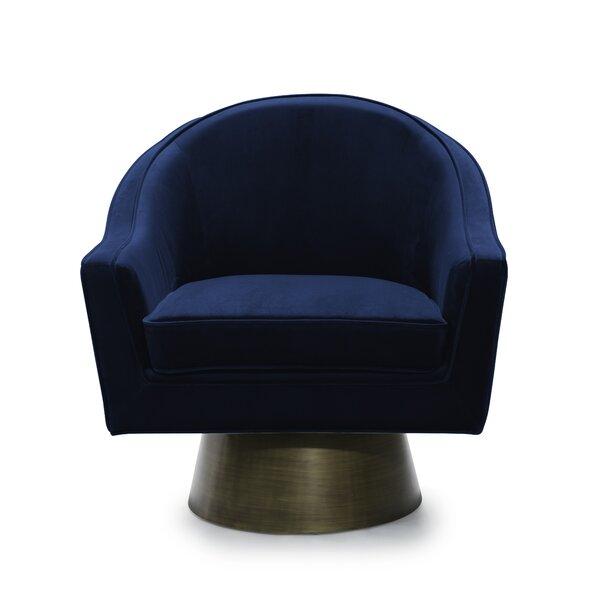 Swivel Barrel Chair by Worlds Away