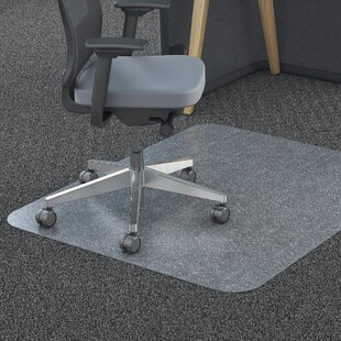 Polycarbonate Hard Floor Beveled Edge Chair Mat by Lorell