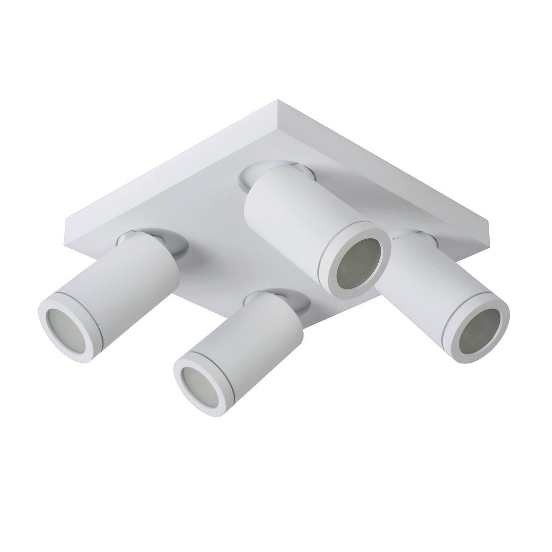 4-Light 24cm Ceiling Spotlight
