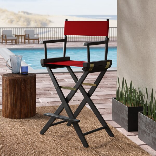 Scoville Folding Director Chair by Rosecliff Heights Rosecliff Heights