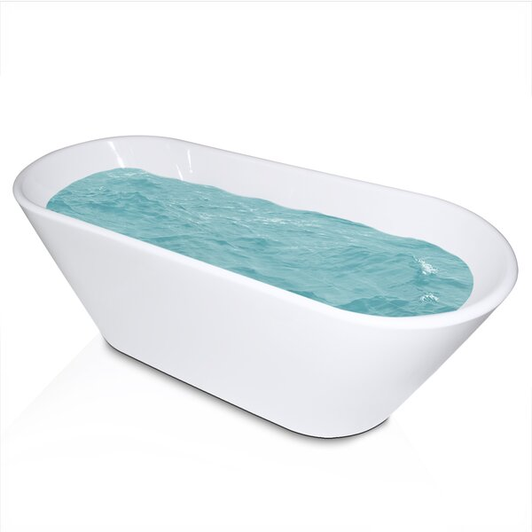 66.9 x 27.17 Soaking Bathtub by AKDY