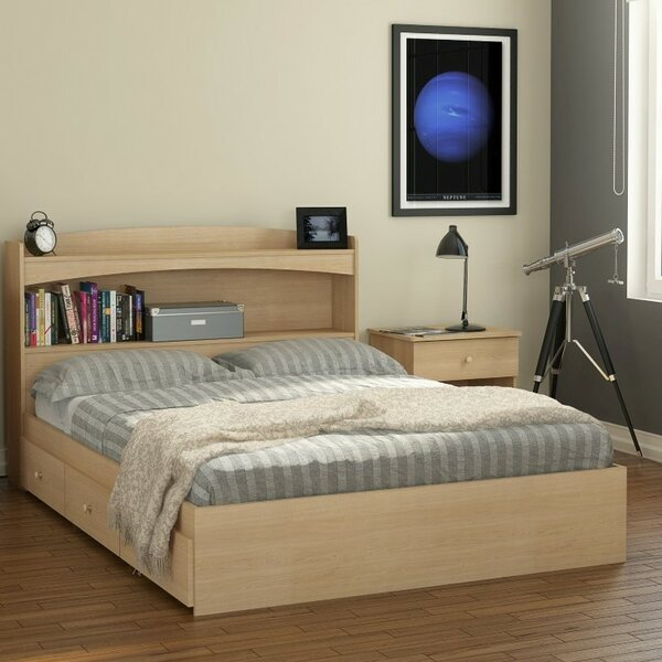 Brook Hollow Full/Double Storage Platform Bed by Red Barrel Studio