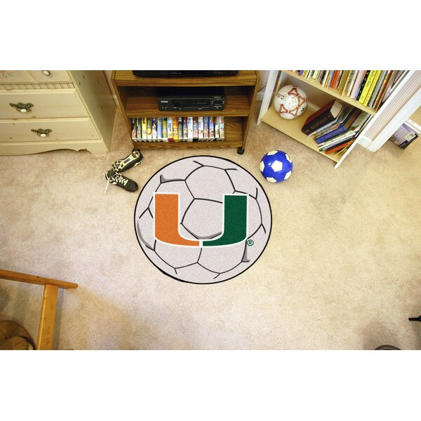 NCAA University of Miami Soccer Ball by FANMATS