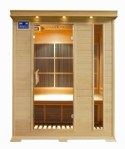 Aspen 3 Person FAR Infrared Sauna by SunRay Saunas