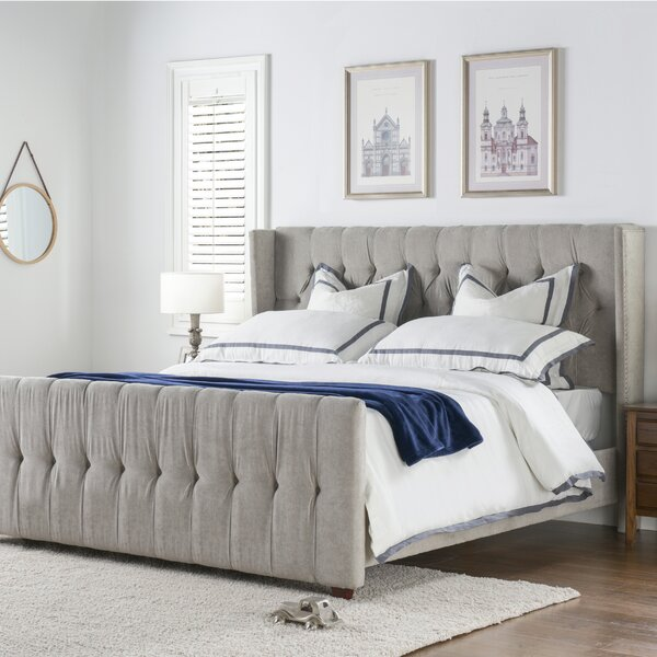 Brie Tufted Upholstered Standard Bed By House Of Hampton
