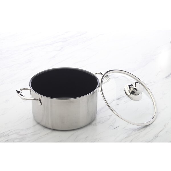 Prestige 6.2-qt. Round Dutch Oven by Swiss Diamond