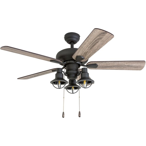 42 Raymer 5 Blade LED Ceiling Fan by Gracie Oaks