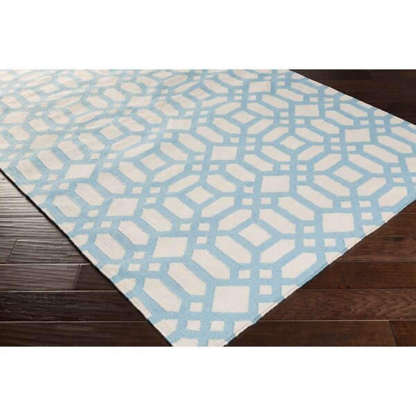 Salina Hand-Woven Blue Indoor/Outdoor Area Rug by Darby Home Co