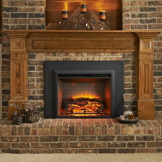 Wall Mounted Electric Fireplace Insert by The Outdoor GreatRoom Company