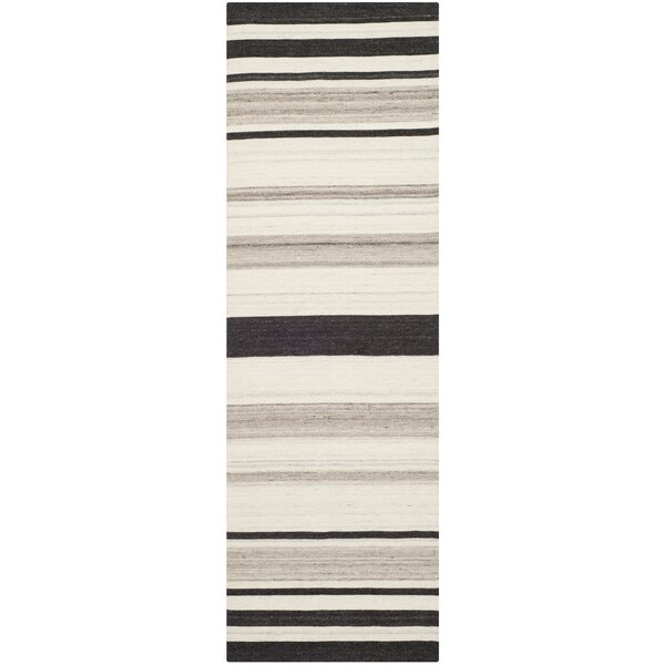 Dhurries Natural/Grey Moroccan Area Rug by Safavieh