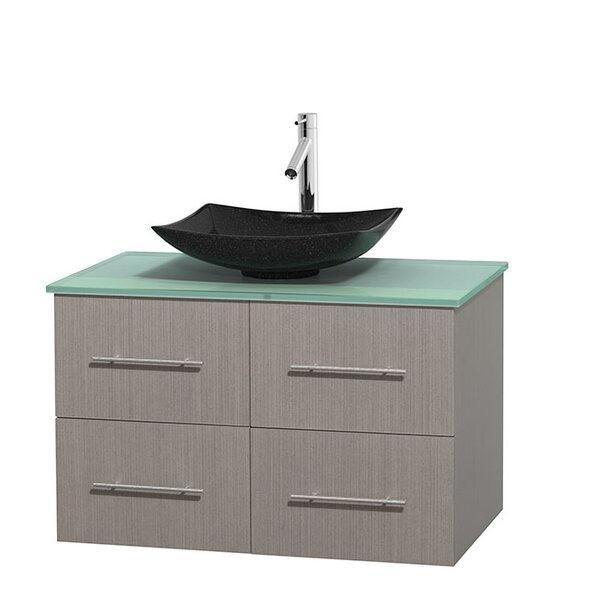 Centra 36 Single Bathroom Vanity Set by Wyndham Collection